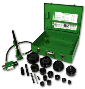 Ram and hand pump Hydraulic Drive Kits - GREENLEE
