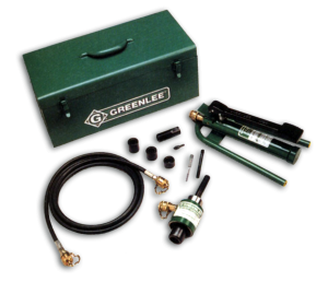 Slug-Buster Ram and foot pump hydraulic Driver Kits - GREENLEE